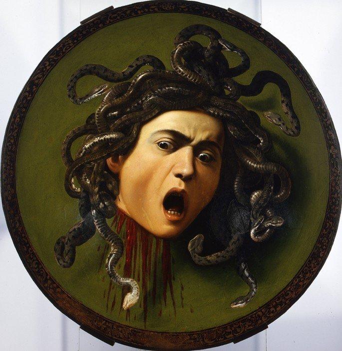 Quadro Medusa.