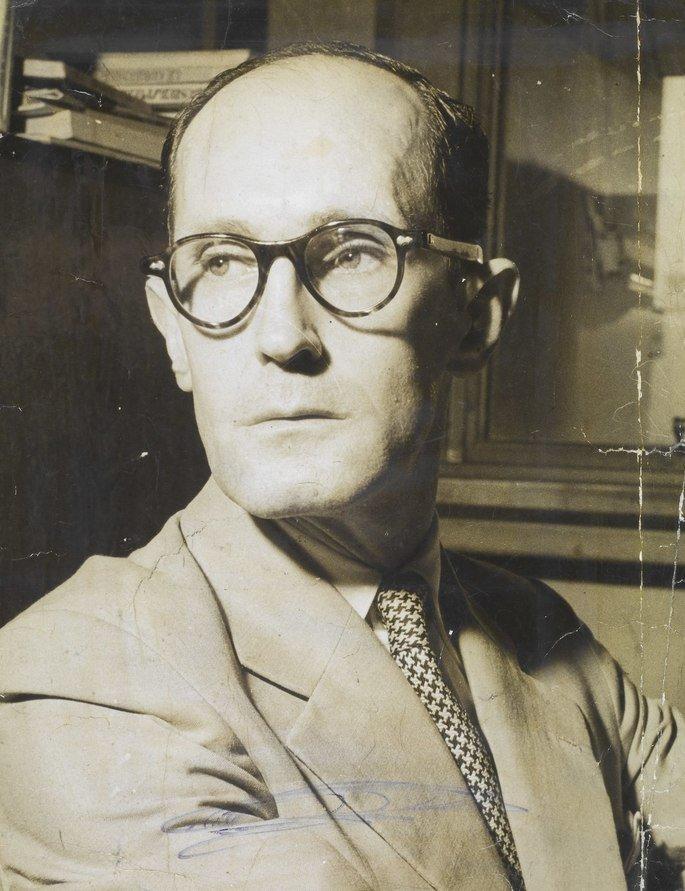 Retrato de Drummond em 1970.