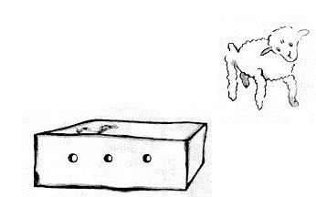 O carneiro e a caixa