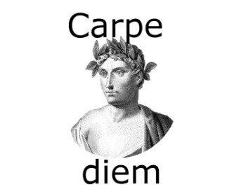 Frase Carpe diem