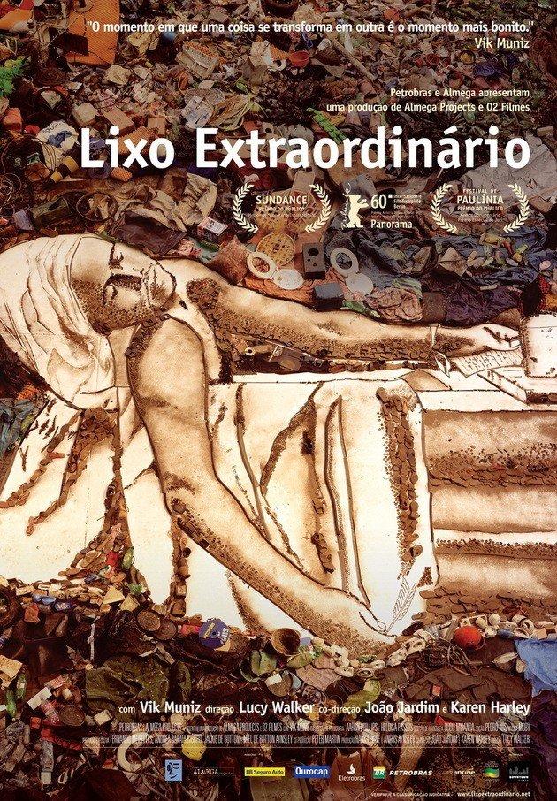 Cartaz do filme Lixo Extraordinário.