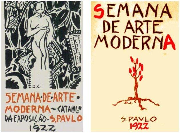 Cartaz da Semana de Arte Moderna.