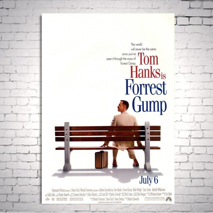 Cartaz de Forrest Gump