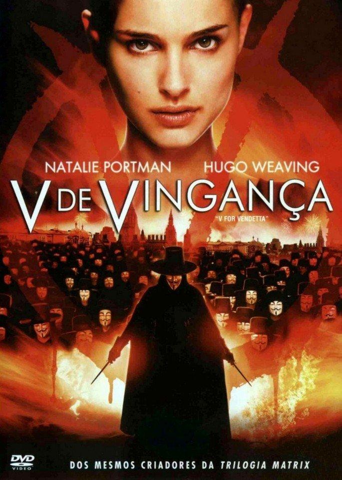cartaz de v de vingança