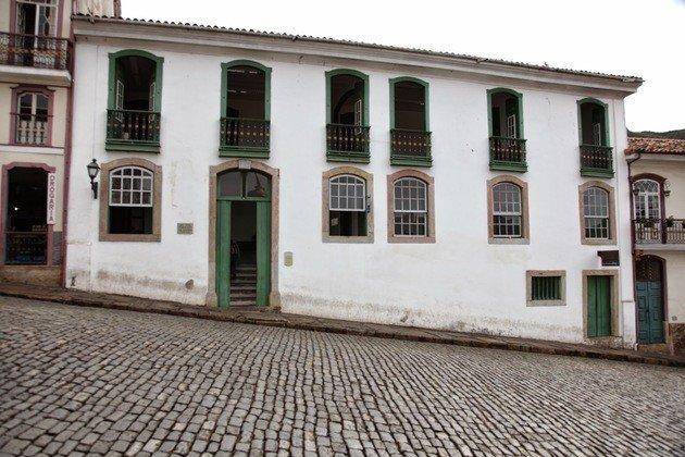 Casa onde viveu Thomaz Antonio Gonzaga em Ouro Preto