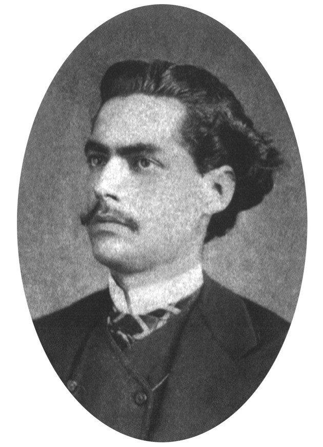 Castro Alves, poeta de destaque da terceira fase do romantismo no Brasil.