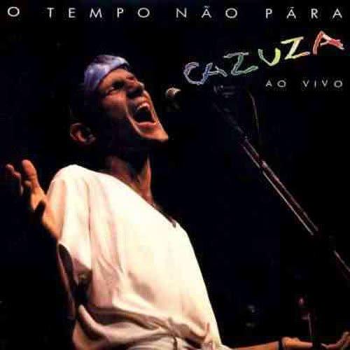 Capa do álbum O Tempo Não Para de Cazuza, 1988