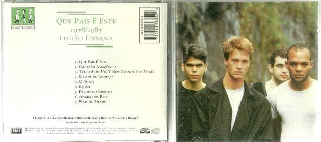 Capa do cd Que Pais e esse
