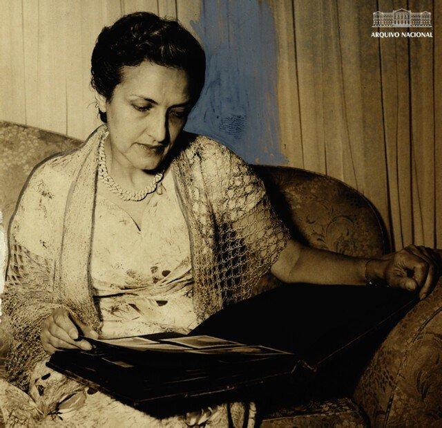 Retrato de Cecilia Meireles