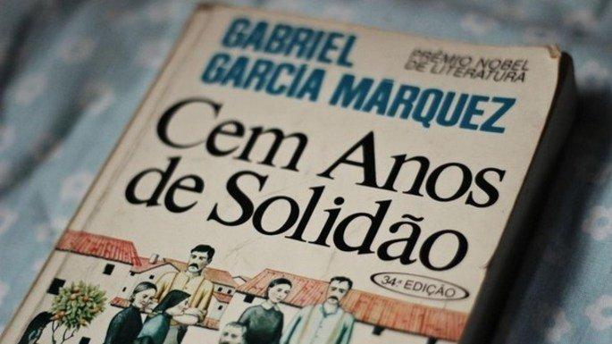 Capa do livro Cem Anos de Solidão