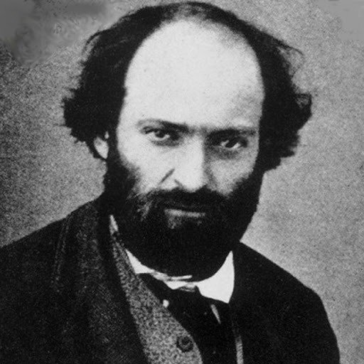 retrato de Cézanne