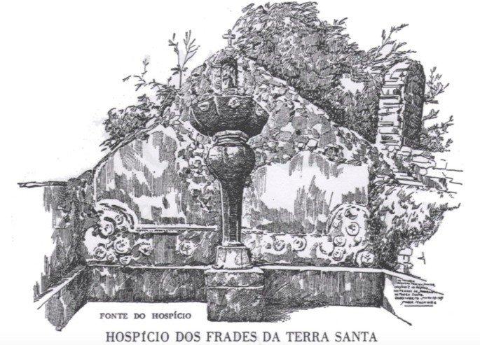 Chafariz para o Hospício da Terra Santa