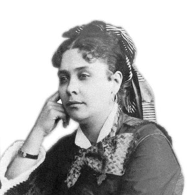 Retrato de Chiquinha Gonzaga.