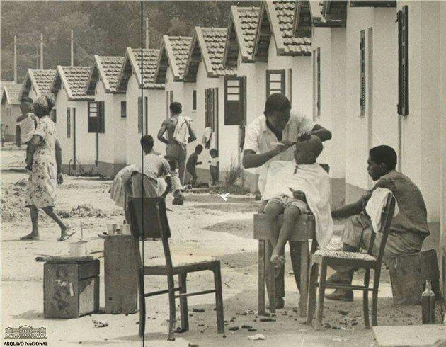 Fotografia da Cidade de Deus - Arquivo Nacional