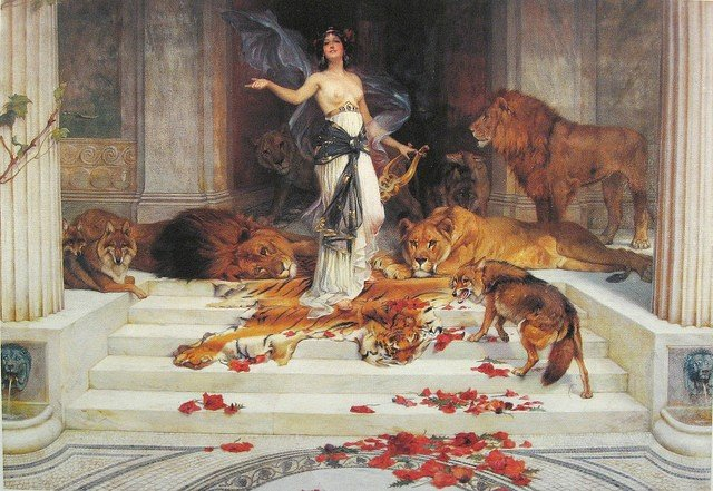 Circe por Wright Barker (1889)