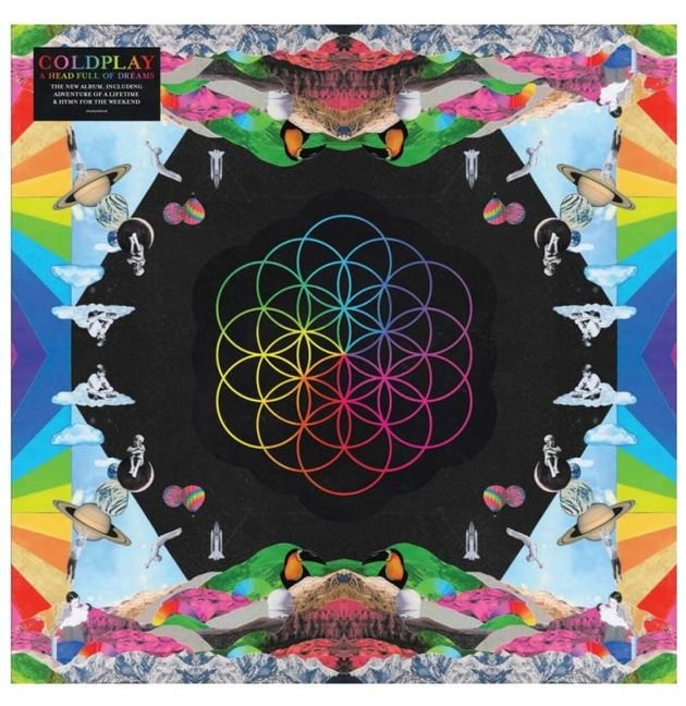 Capa do álbum A head full of dreams.