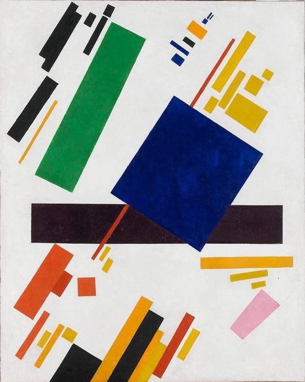 Composição Suprematista, Kazimir Malevich
