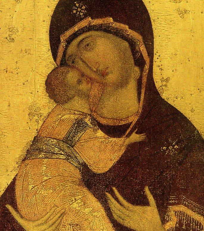 ícone bizantino Andrei rublev