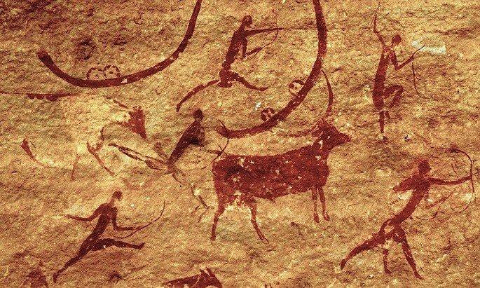 Arte rupestre.
