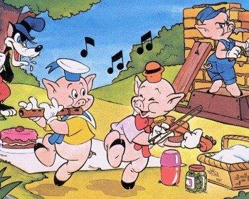 Conto Os três porquinhos