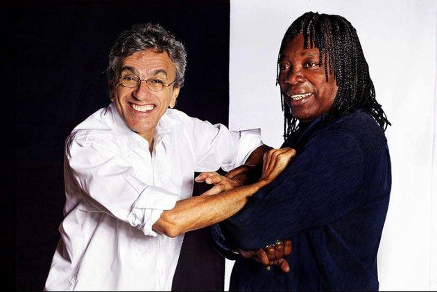 Parceria entre Caetano Veloso e Milton Nascimento.