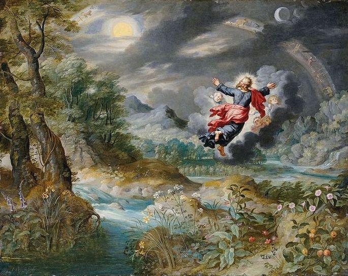 Quadro Criação do Mundo, de Pieter Bruege.