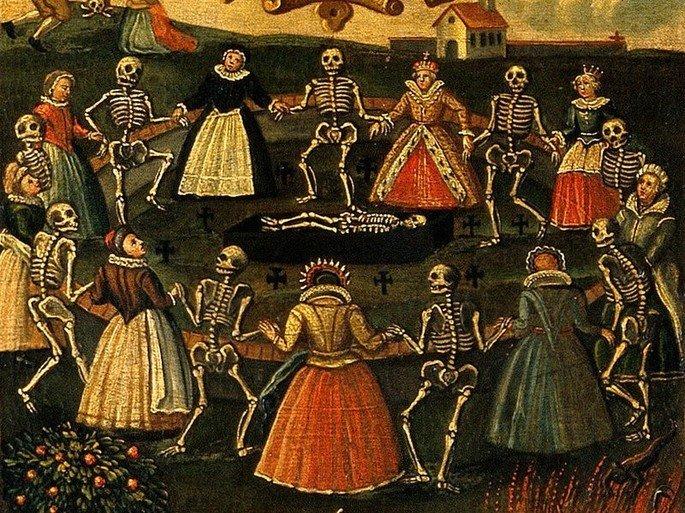 dança macabra sétimo selo