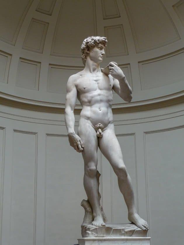 Davi - 5,17m - Galleria dell'Accademia, Florença
