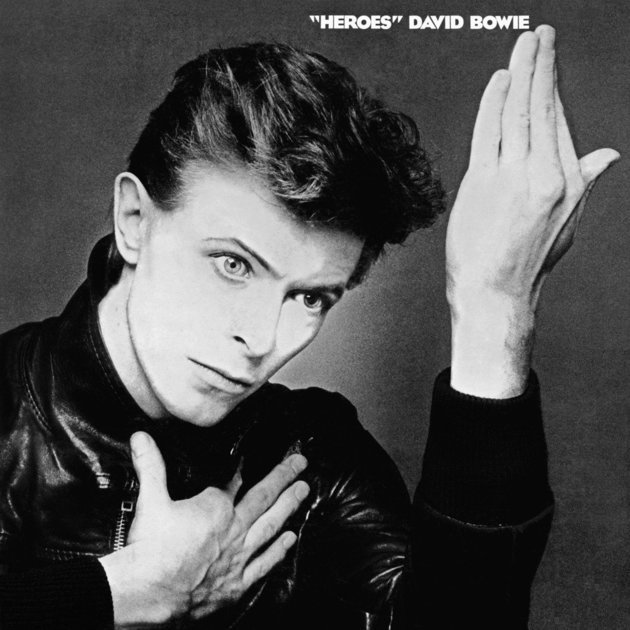 Capa do disco Heroes de David Bowie (1977).