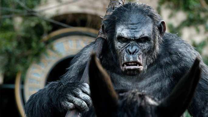 Koba - Planeta dos macacos.