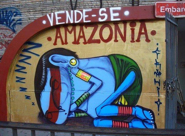 O trabalho de Cobra é bastante conhecido nas ruas de São Paulo.