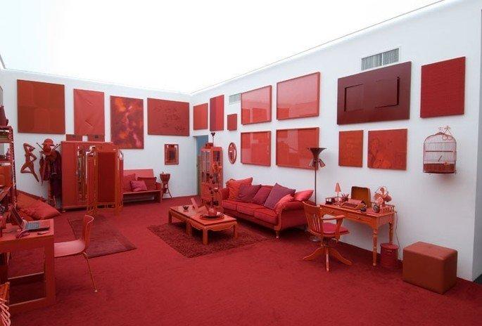 desvio para o vermelho, instalação de cildo meireles