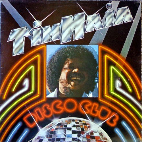 Capa do LP Disco club, de Tim Maia.