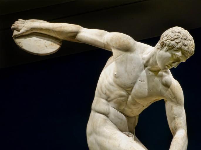 Estátua O Discóbolo, de Míron