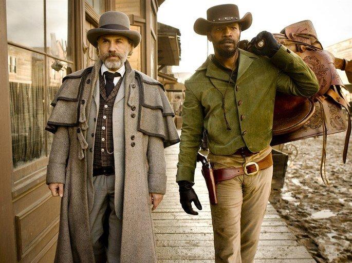 Django e o seu companheiro.