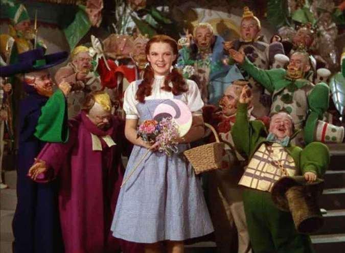 Anões em Mágico de Oz