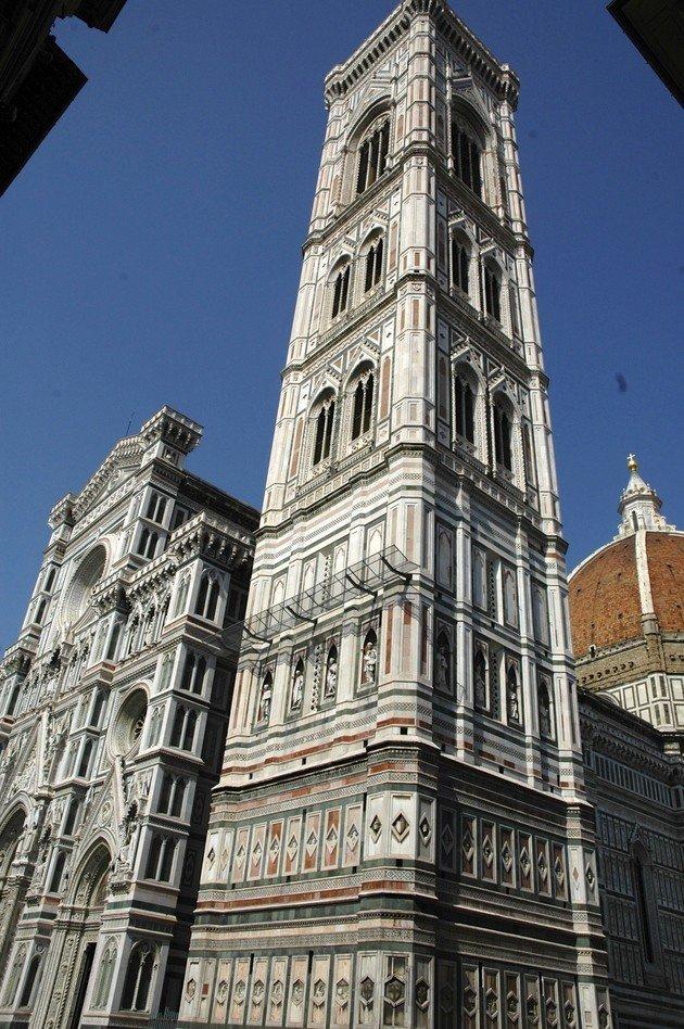 O Campanário de Giotto.