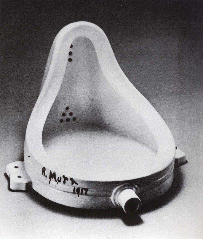 A Fonte (1917), de Marcel Duchamp