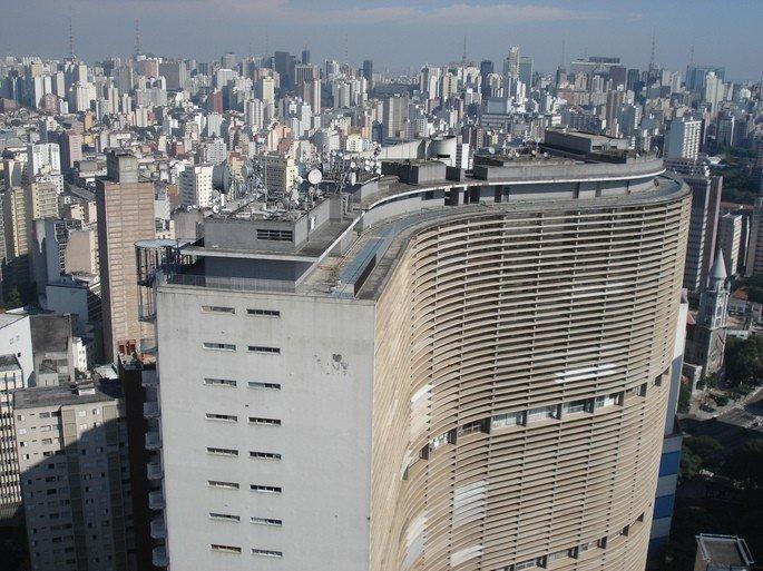Edifício Copan, de Niemeyer