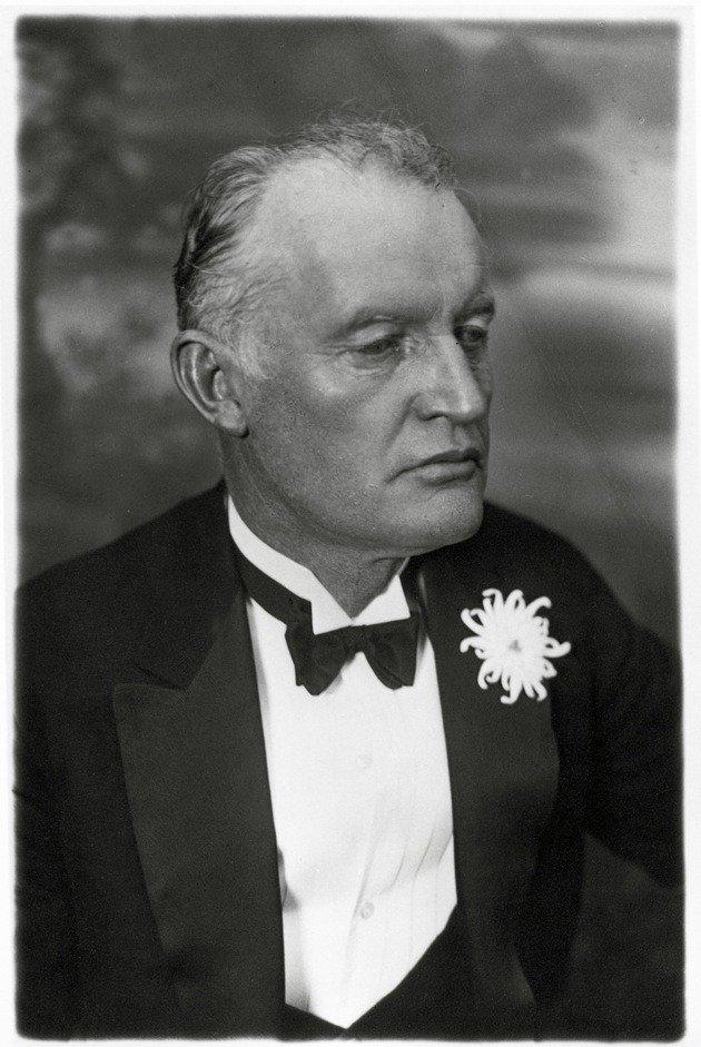 Edvard Munch em 1926.