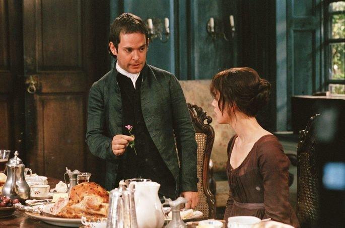 Sr. Collins pede Lizzie em casamento em Orgulho e Preconceito