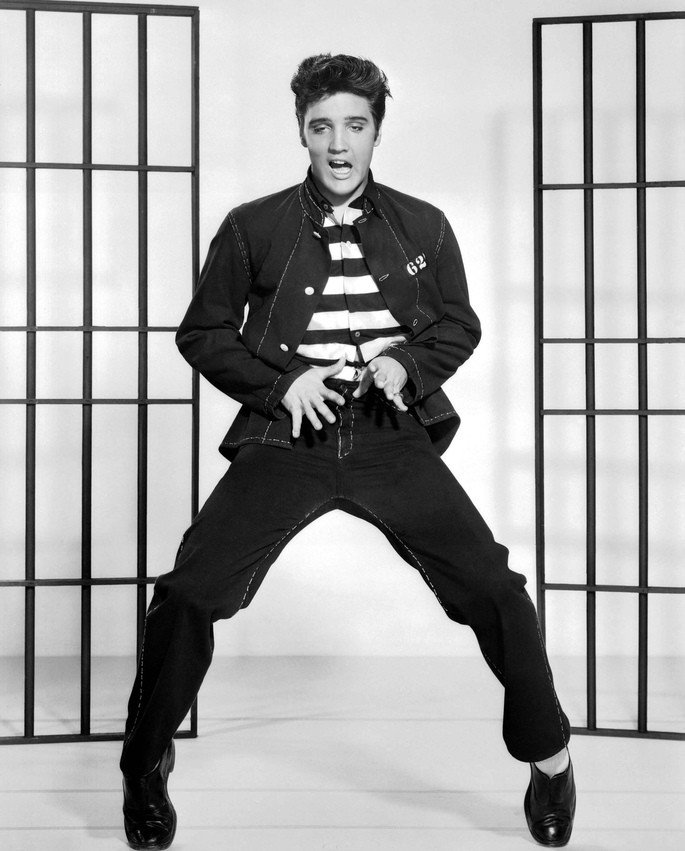 Elvis, Jailhouse Rock.