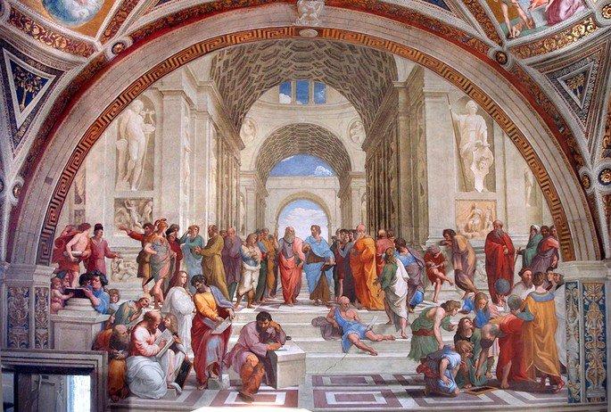 Escola de Atenas (1509–1511)
