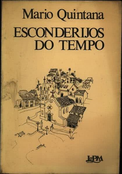 Capa do livro Esconderijos do Tempo de Mario de Andrade, 1980