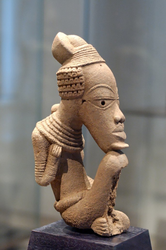 escultura africana nok