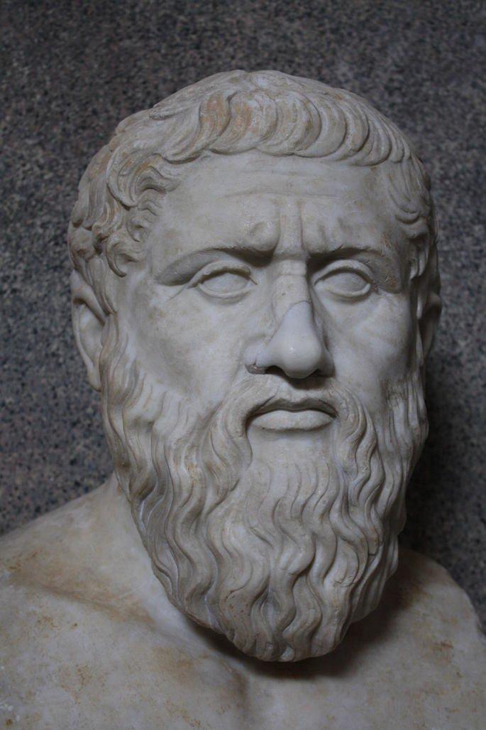 Escultura de Platão