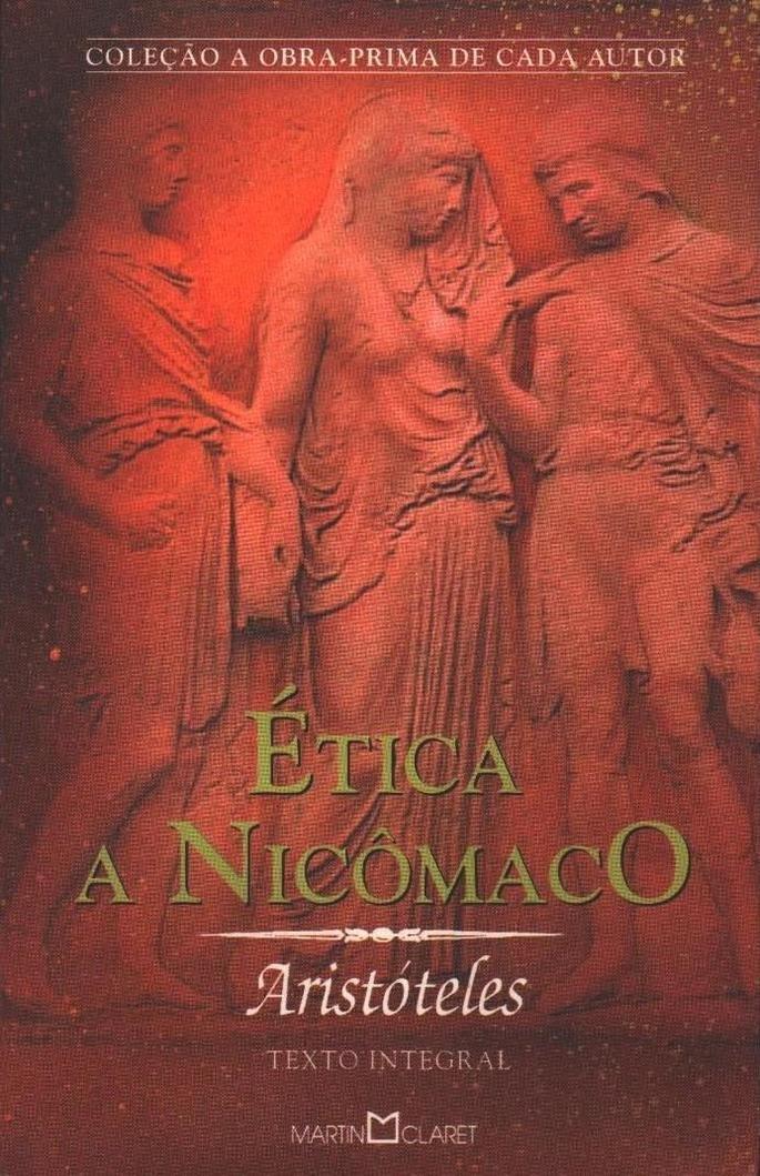 Capa de Ética a Nicômaco.