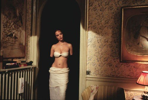 Filme The Dreamers, Eva Green de Venus de Milo.