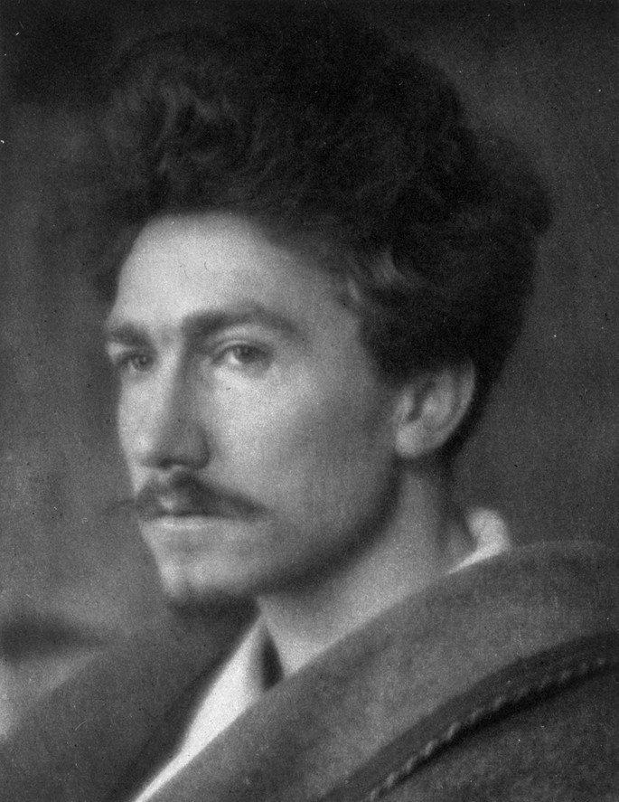 Retrato de Ezra Pound.