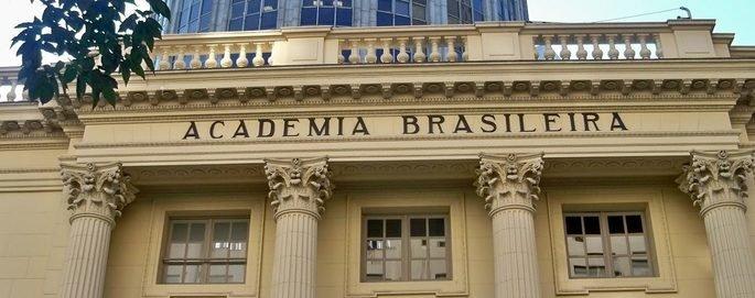 Fachada do prédio da Academia Brasileira de Letras.